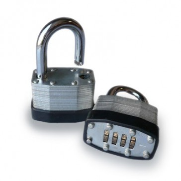 Combination Padlock - 4 wheel numeric